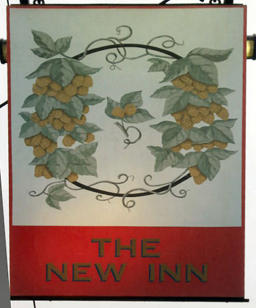 New Inn sign 2010