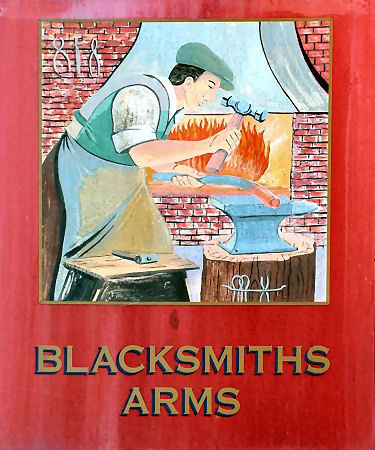 Blacksmith's Arms sign 2012