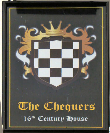 Chequers sign 2012