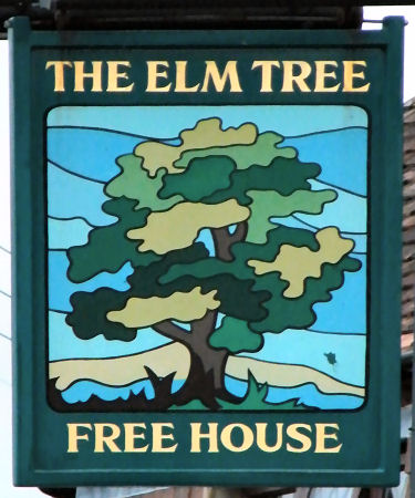 Elm Tree sign 2014