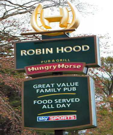Robin Hood sign 2014