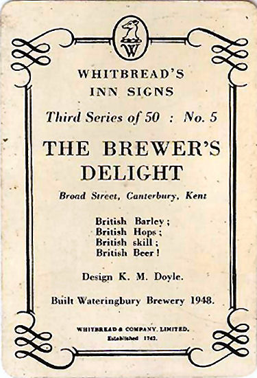 Brewers Delight card
