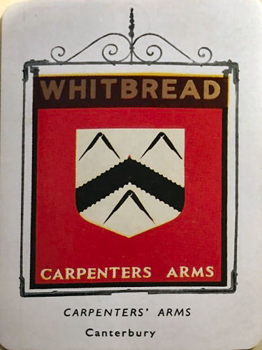 Carpenter's Arms card