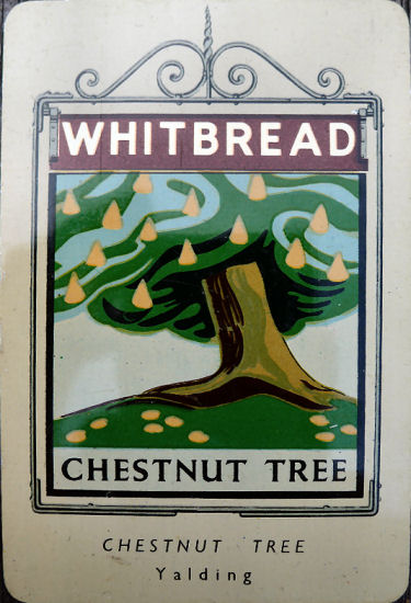 Chestnut Tree card