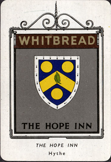 Hope Inn card 1951