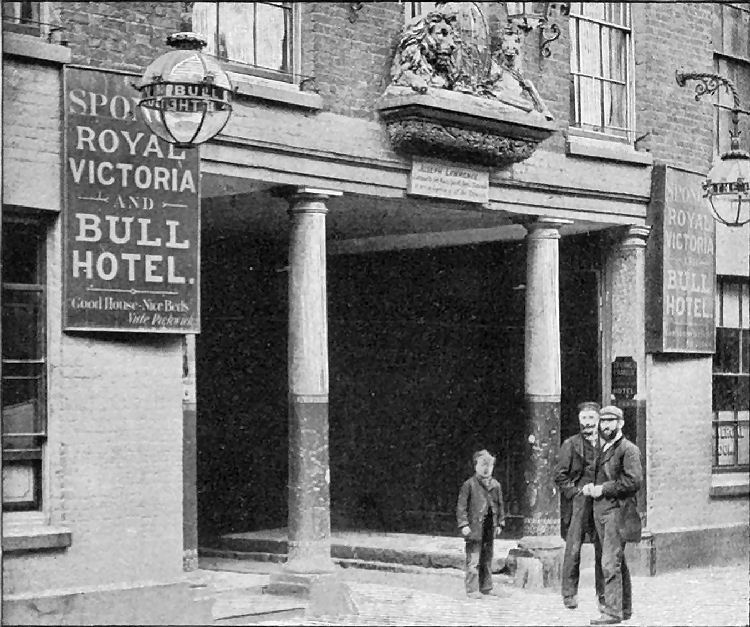 Royal Victoria and Bull Hotel 1902
