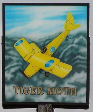 Tiger Moth sign 2006
