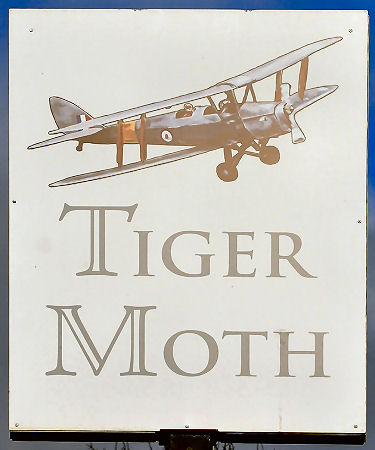 Tiger Moth sign 2010
