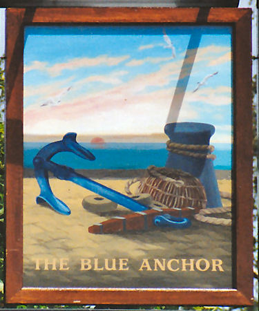 Blue Anchor sign 1991