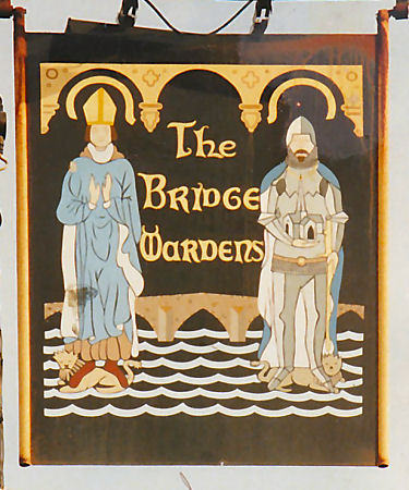 Bridge Wardens sign 1990