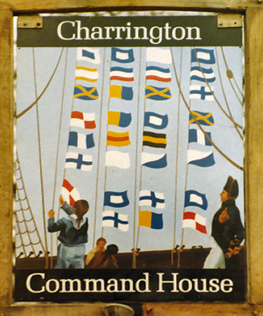 Command House sign 1978