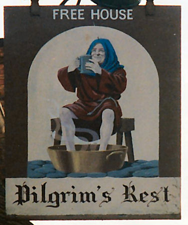 Pilgrim's Rest sign 1980s