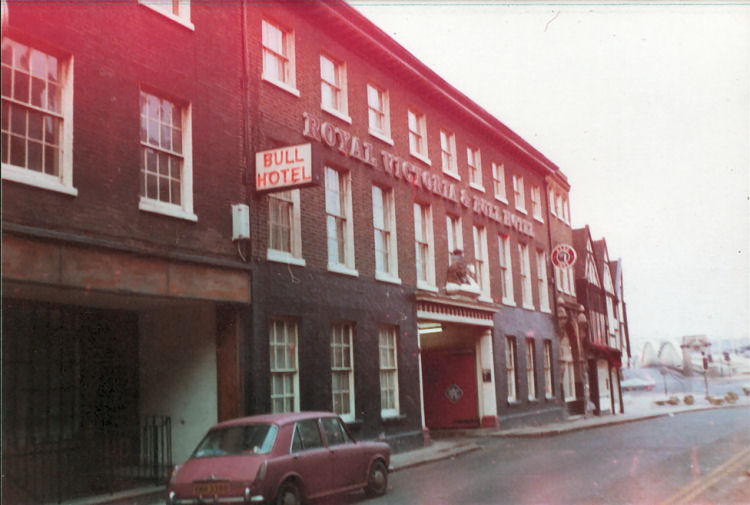 Royal Victoria and Bull Hotel 1978