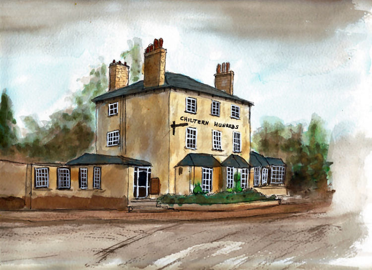 Chiltern Hundreds painting