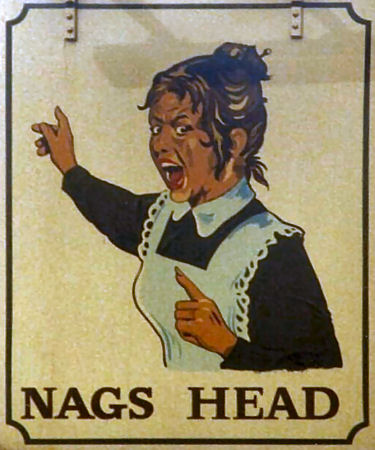 Nags Head sign 1990