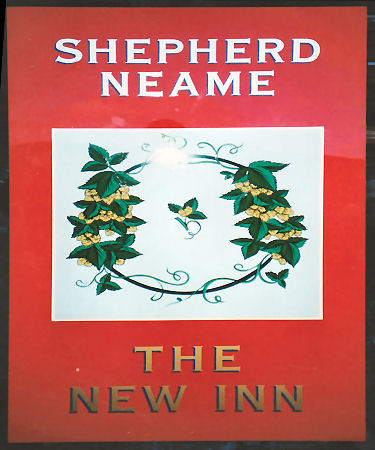 New Inn sign 1994
