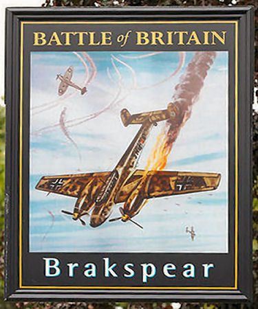 Battle of Britain sign 2015