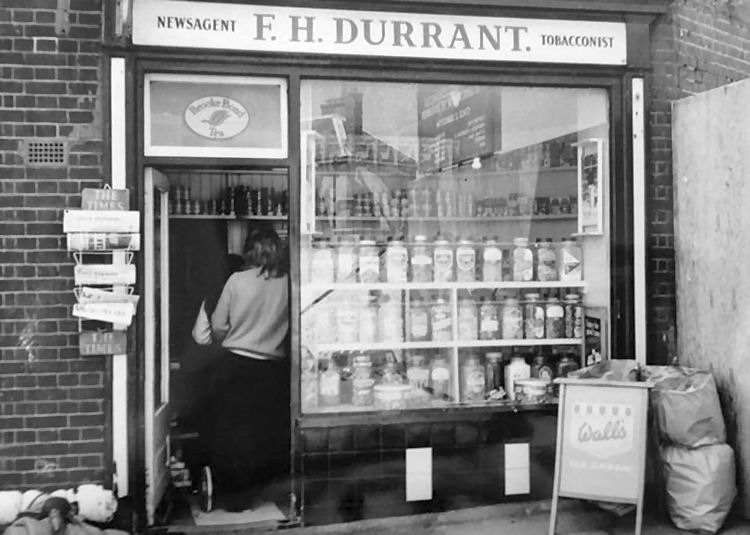 Durrant's newsagents 1973