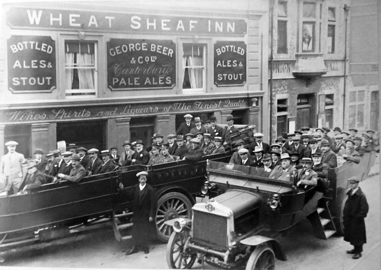 Wheat Sheaf Inn 1920
