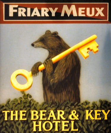 Bear and Key sign 1995