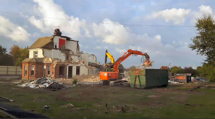 Battle of Britain demolition