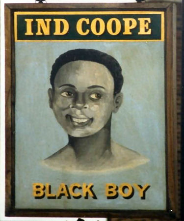Black Boy sign 1987