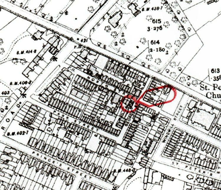 Royal Tunbridge Wells map 1907