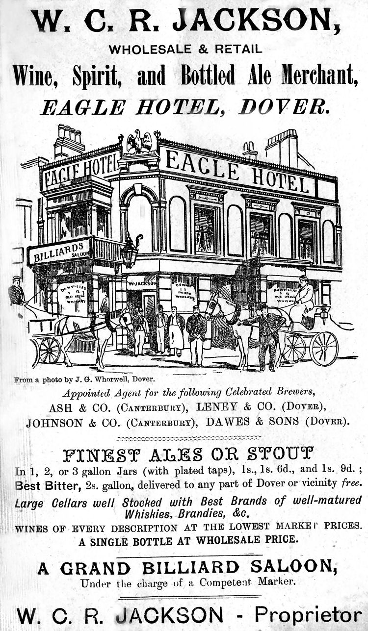 Eagle advert 1890