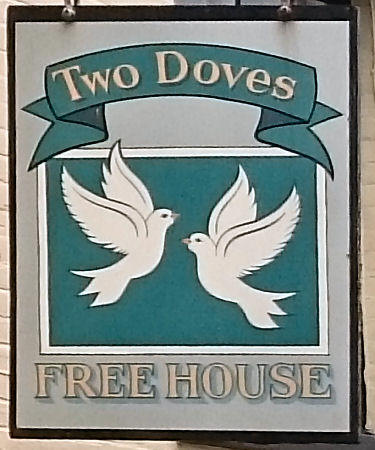 Two Doves sign 2017