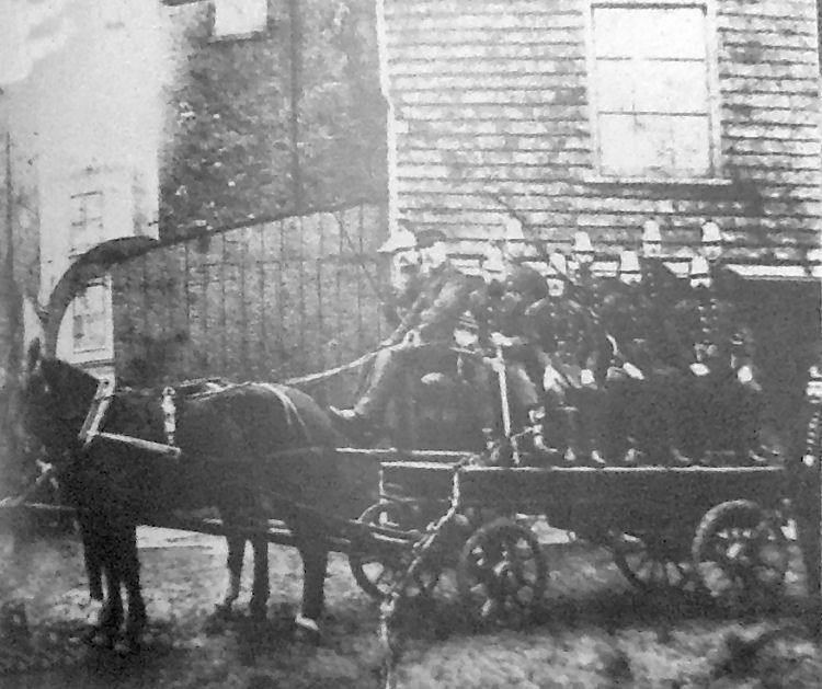 Whitstable Fire Brigade 1900
