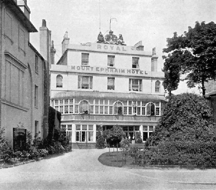 Royal Mount Ephraim Hotel 1896