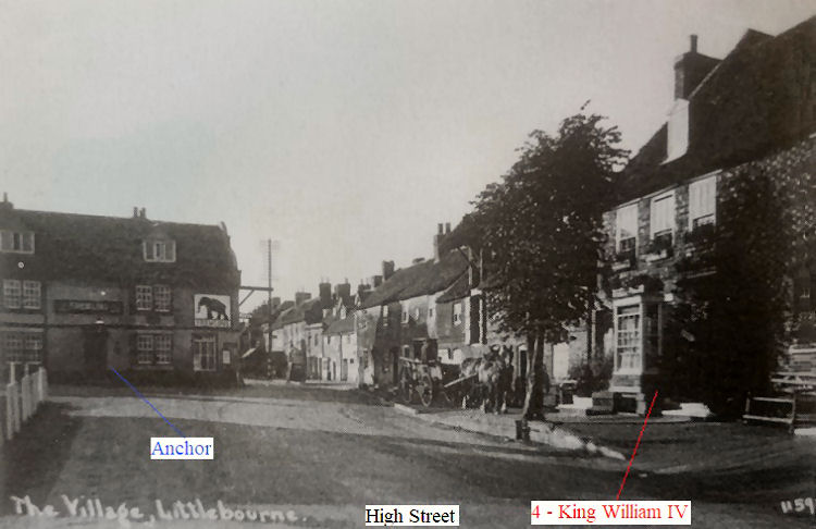 Anchor and King William IV 1932