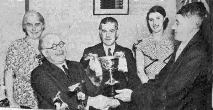 City Arms dats trophy 1939