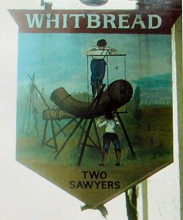 Two Sawyers sign