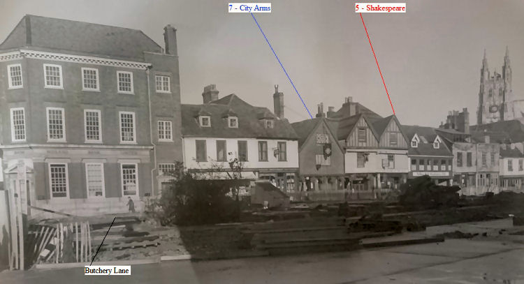 Shakespeare Arms 1950