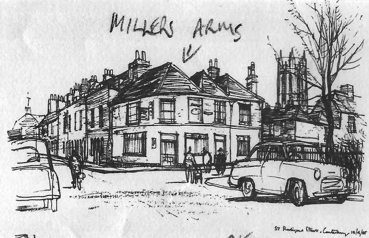 Miller's Arms drawing 1965