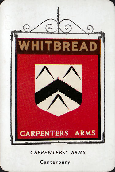 Carpenter's Arms card 1955