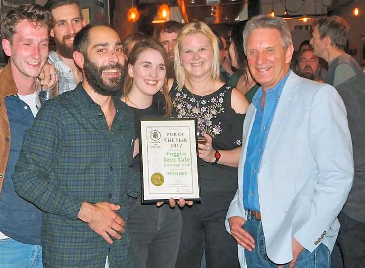 Fuggles Beer cafe award 2017