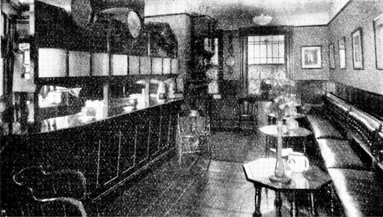 Antwerp Saloon bar 1932