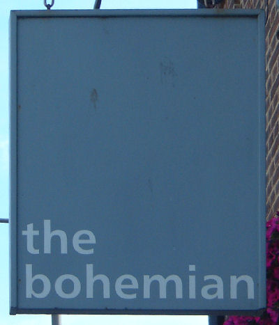 The rather boring Bohemian sign in Deal