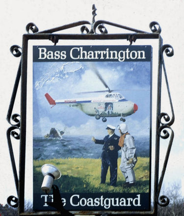 Coastguard sign May 1973