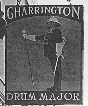 Drum Major sign, Walmer