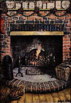 Fox fireplace