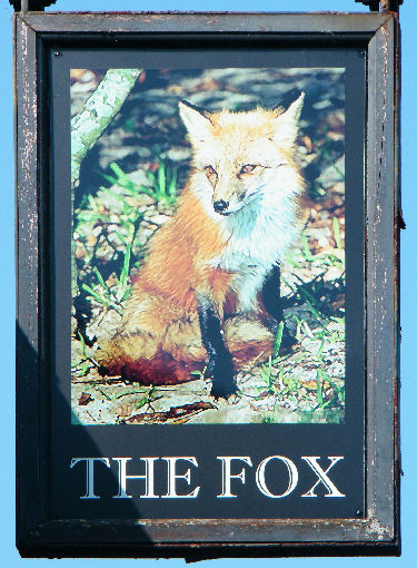 Fox sign April 2011