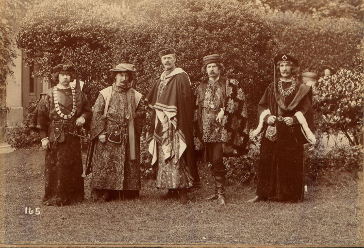 George Austen at Dover Pageant 1908