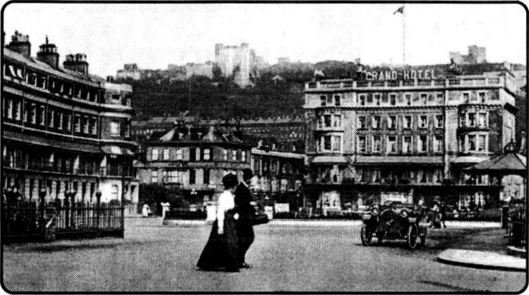 Grand Hotel from Camden Crescent