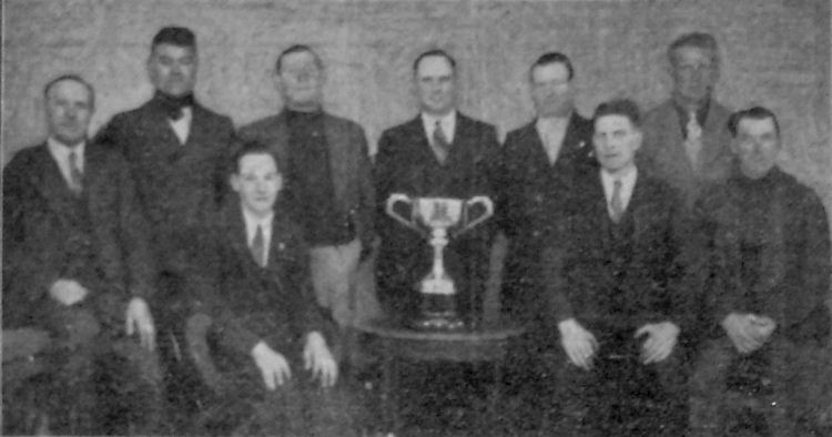 Granville Arms Dart Team 1938