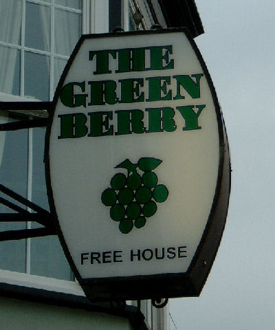 Green Berry Sign