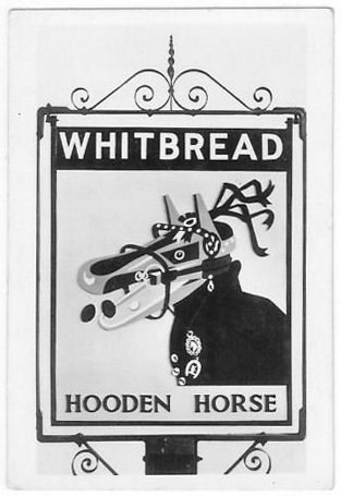Hooden Horse business card front