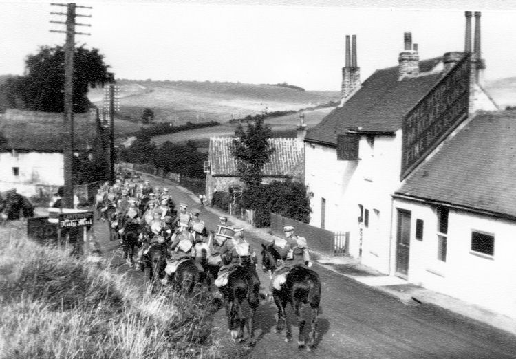 Military Manoeuvres Lydden Hope circa 1930